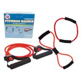 12 Units of PRIDE EXERCISE FITNESS BAND SET 3 PC 27.5/39.3/47.2 IN WITH STORAGE BAGS