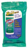 24 Units of CLOROX DISINFECTING WIPES TO GO 9 COUNT FRESH SCENT - Cleaning Products