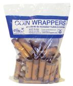 42 Units of COIN WRAPPERS 36 COUNT NICKEL - Coin Holders/Banks/Counter