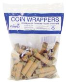 50 Units of COIN WRAPPERS 36 COUNT DIME - Coin Holders/Banks/Counter