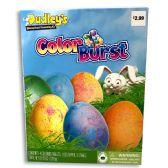 40 Units of DUDLEYS COLOR BURST EGG DECORATING KIT PRE-PRICED $2.99 - Easter