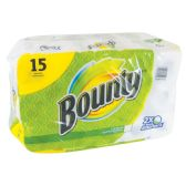 15 Units of BOUNTY PRINTS FULL SHEET 40CT 2PLY INDIVIDUALLY WRAPPED. - Bathroom Accessories