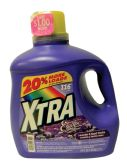 4 Units of XTRA LIQUID LAUNDRY DETERGENT 175 OZ 116 LOADS CONCENTRATED LAVENDER AND SWEET VANILLA - Laundry Detergent