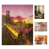 48 Units of WALL DECO PICTURE 9.5 X 7 IN ASSORTED DESIGNS - Home Decor
