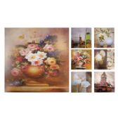 36 Units of WALL DECO PICTURE 10.5 X 10.5 IN ASSORTED DESIGNS - Home Decor