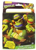 48 Units of TMNT TRAVEL ACTIVITY PACK 3 PC INCLUDES ACTIVITY BOOK/CRAYONS/ STICKERS - STICKERS