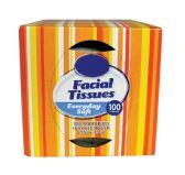 18 Units of FACIAL TISSUE 2PLY/100 SHT CUBE (20.8 CMX21.3 CM EACH) - Tissues