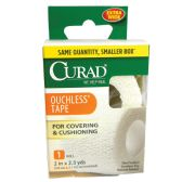 24 Units of CURAD OUCHLESS TAPE 2 INCHESx2.3YDS UNSTRETCHED HOSPITAL QUALITY - First Aid / Band Aids