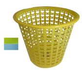 48 Units of MULTI PURPOSE BASKET ROUND 3 GALLON ASSORTED COLORS - Baskets