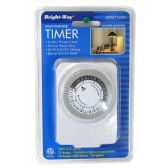 12 Units of BRIGHT WAY MULTI PURPOSE TIMER 24 HR PROGRAMMABLE - Wall Decor