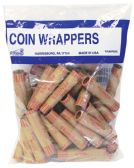 50 Units of COIN WRAPPERS 36 COUNT PENNY - Coin Holders & Banks