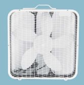 BOXED FAN 20 IN SQUARE WHITE ETL APPROVED - Home Goods