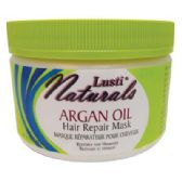 8 Units of LUSTI NATURALS HAIR REPAIR MASK 10 OZ ARGAN OIL MADE IN USA - Hair Accessories