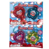 24 Units of BUBBLES HEART AND STAR BOTTLE 2 PK AGE 3+ - Bubbles