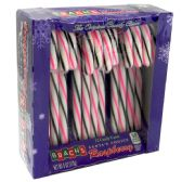 24 Units of BRACH'S CANDY CANE 12CT RASPBERRY 6 OZ - Food & Beverage