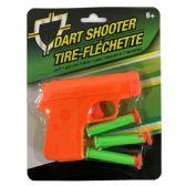 24 Units of DART SHOOTER 1 GUN 3 DARTS AGE 6+ - DARTS/ARCHERY SETS