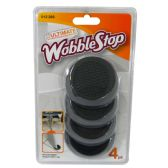 12 Units of WOBBLE STOP FURNITURE BALANCING DEVICE 4PK IN DISPLAY - Home Accessories