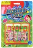 24 Units of BUBBLE AND WAND 3 PK AGE 3+ - Bubbles
