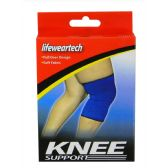 24 Units of ELASTIC KNEE SUPPORT ONE SIZE FIT ALL- UNISEX SOFT FABRIC - Bandages and Support Wraps
