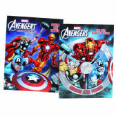 "72 Units of AVENGERS COLORING BOOK 96 PG ASTD 11""X7.5"" - Coloring Books"