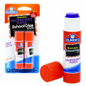 48 Units of ELMER'S GLUE .21 OZ 2 CT DISAPPPEARING PURPLE - Glue Office and School