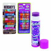 32 Units of CANDY FLAVORED LIP BALM 8 CT ASTD LICENSES - Lip Gloss