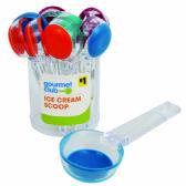 "48 Units of GOURMET CLUB ICE CREAM SCOOP W/ FLEX BASE 7.5"" ASTD PRE-PRICED $1.00 - Kitchen > Accessories"