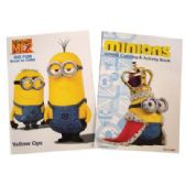 72 Units of COLORING BOOK 96 PG MINIONS ASSORTED VOLUMES - Coloring Books
