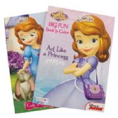 72 Units of SOFIA THE FIRST COLORING BOOK 96 PAGES ASSORTED VOLUMES USA - Coloring Books