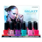 24 Units of TIVOLI GALAXY NAIL POLISH- ASTD COLORS .52 FL OZ - Nail Polish