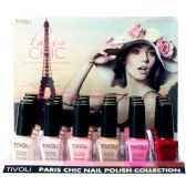 24 Units of TIVOLI PARIS CHIC NAIL POLISH .52FL OZ 24 CT - Nail Polish