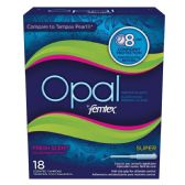 12 Units of OPAL FEMTEX TAMPONS 18 CT SUPER-FRESH SCENT 8HR PROTECTION - Personal Care Items
