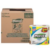 12 Units of MARCAL BATH TISSUE 4 PK 1000 CT 1PLY - Paper