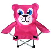 6 Units of CAMPING CHAIR 26 X 14 X 14 BEAR DESIGN - Camping