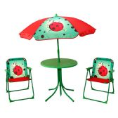KIDS' PATIO SET LADYBUG - Camping