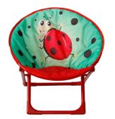 6 Units of KIDS' MOON CHAIR LADYBUG - Camping