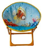 6 Units of KIDS' MOON CHAIR FISH - Camping