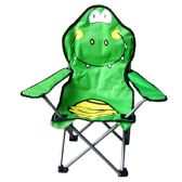 6 Units of CAMPING CHAIR FOR KIDS 26 X 14 X 14 CROCODILE DESIGN - Camping Gear