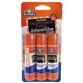 40 Units of ELMER'S- GLUE STICK .21 OZ 3 P - GLUE-OFFICE/SCHOOL