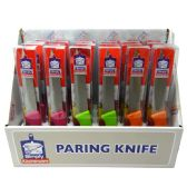 24 Units of PARING KNIFE 4.5 ASTD - Box Cutters and Blades