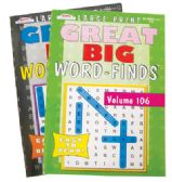 80 Units of GREAT BIG WORD FIND 97 PAGES ASSORTED VOLUMES MADE IN USA PREPRICED $3.95 - Coloring Books