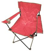 6 Units of CAMPING CHAIR 20 X 20 X 33 INCH RED - Camping Gear