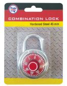 48 Units of COMBINATION LOCK 45MM