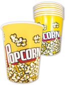 20 Units of PRIDE POPCORN CUP PAPER 32 OUNCES - Food & Beverage
