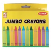 48 Units of CRAYON 12 COUNT JUMBO - Chalk,Chalkboards,Crayons