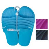 18 Units of LADIES SLIDE SANDAL ASSORTED SIZES 5-10 AND COLORS - Womens Sandals