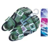 24 Units of UNISEX SANDAL ADJUSTABLE STRAPS YOUTH ASSORTED SIZES 11-3 AND COLORS
