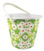 30 Units of BUCKET PRINTED WITH HANDLE 2.75 GALLONS ASSORTED