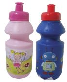 40 Units of WATER BOTTLE FOR CHILDREN 12 OUNCES ASSORTED DESIGNS