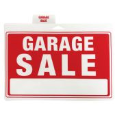 48 Units of PLASTIC SIGN GARAGE SALE 12 X 9 INCHES - Signs & Flags